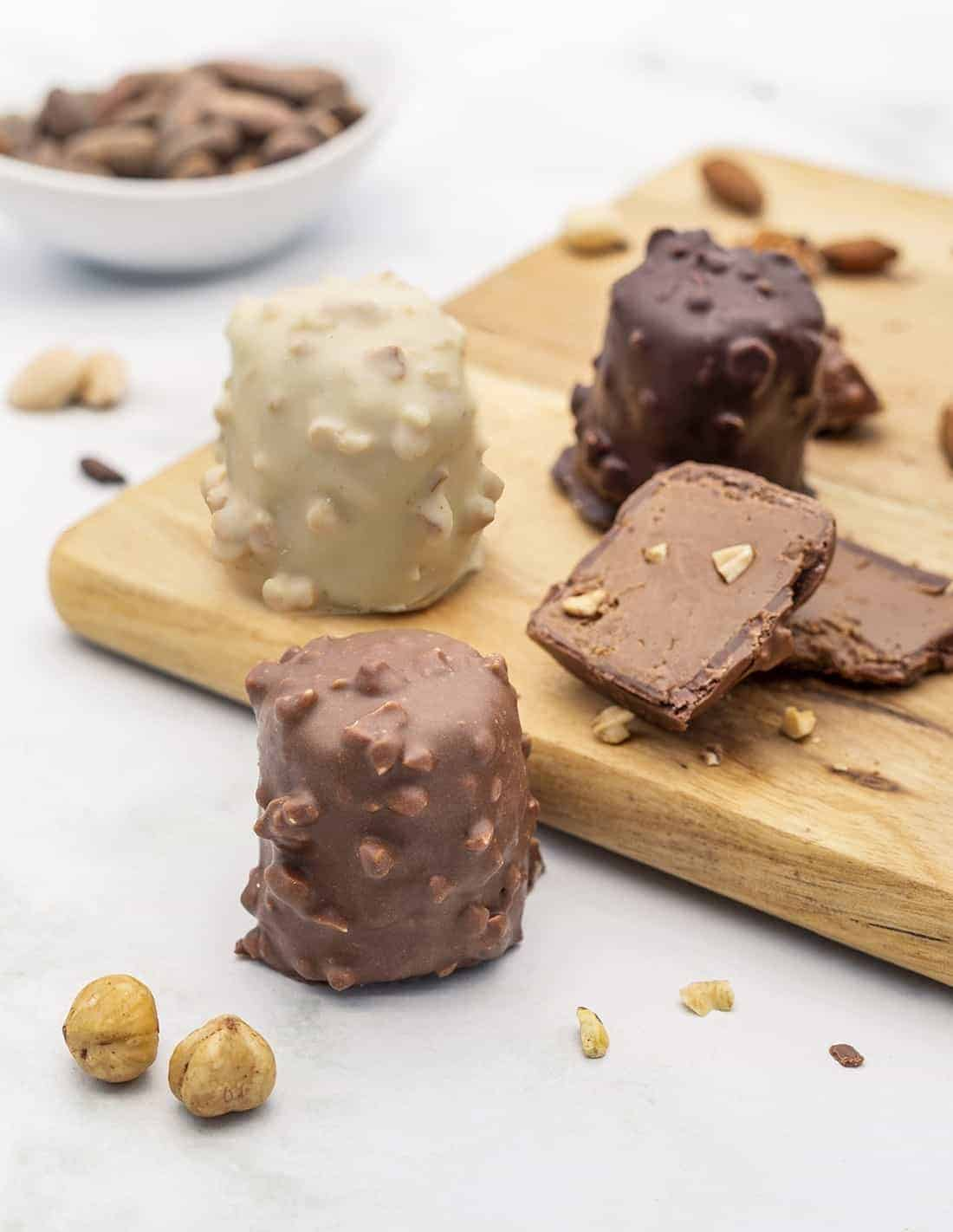 Rocher praliné - Lot de 3