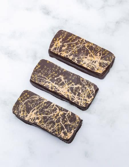 Ganache rhum raisin - Lot de 3 - Chocolaterie Beussent Lachelle - Bean to Bar