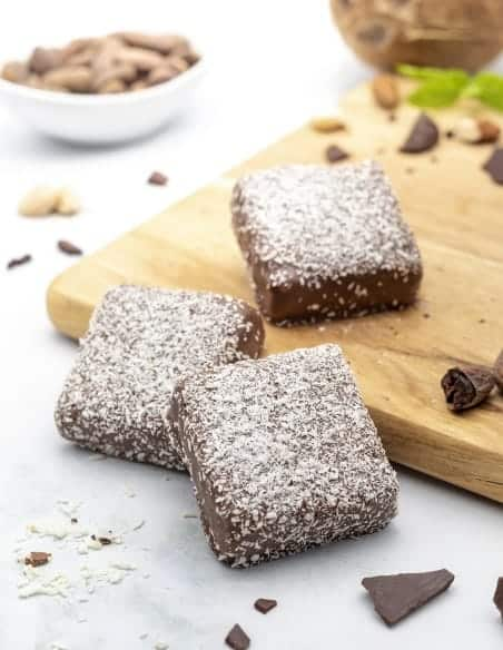 African Coconut Chops & Malibu - Set of 3 - Beussent Lachelle Chocolate Factory - Bean to Bar