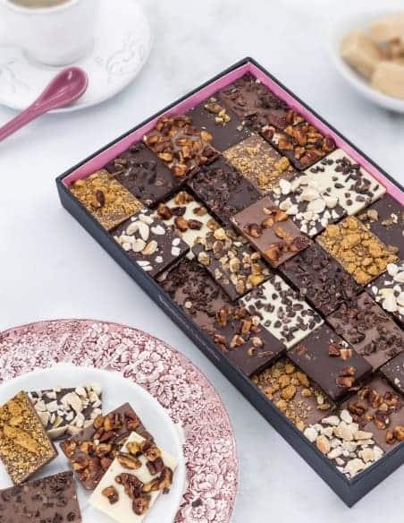 Carrés gourmands - Chocolaterie Beussent Lachelle - Bean to Bar