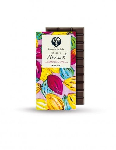 Origin Brasil 66% - Beussent Lachelle Chocolate Factory - Bean to Bar