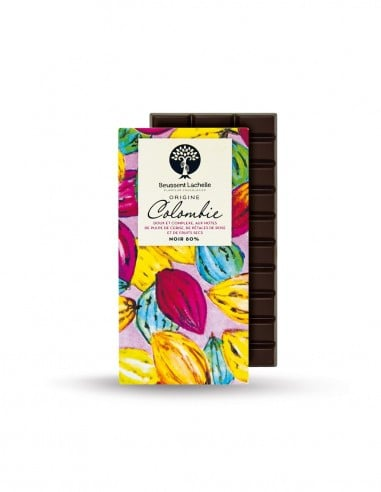 Colombie 80% - Chocolaterie Beussent Lachelle - Bean to Bar
