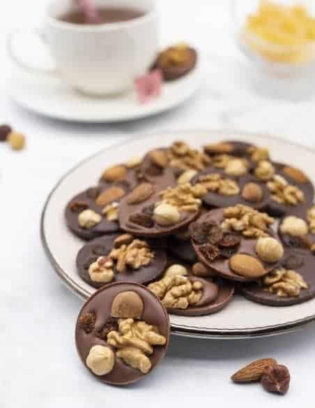 Mendiants - Chocolaterie Beussent Lachelle - Bean to Bar