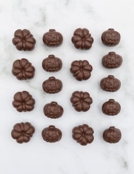 Citrouilles pralinées - Chocolaterie Beussent Lachelle - Bean to Bar