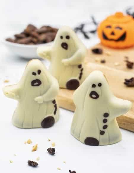 Ghost - Set of 3 - Beussent Lachelle Chocolate Factory - Bean to Bar
