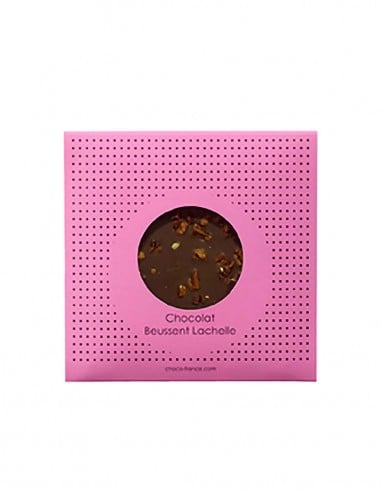 Tablette Equateur Lait Pécan 42% - Beussent Lachelle Chocolate Factory - Bean to Bar
