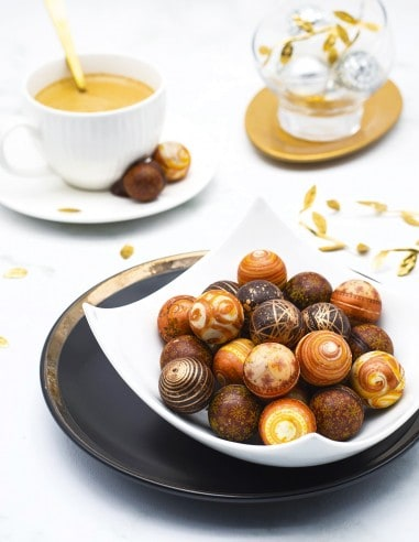 Hazelnuts Christmas Balls - Beussent Lachelle Chocolate Factory - Bean to Bar