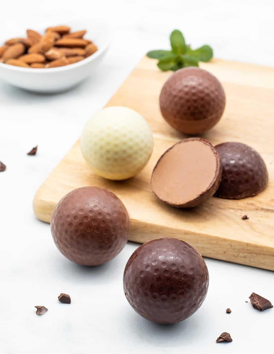 Golf balls - Set of 3