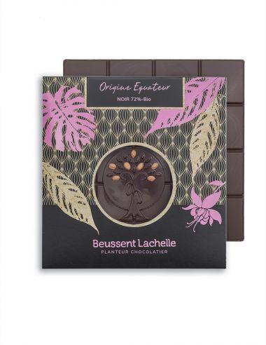 Tablette Equateur 72% - Chocolat Beussent Lachelle