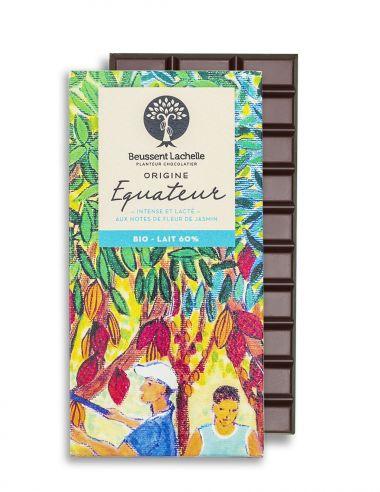 Equateur Lait 60% - Chocolat Beussent Lachelle