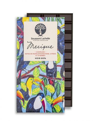 Mexique 80% - Chocolat Beussent Lachelle