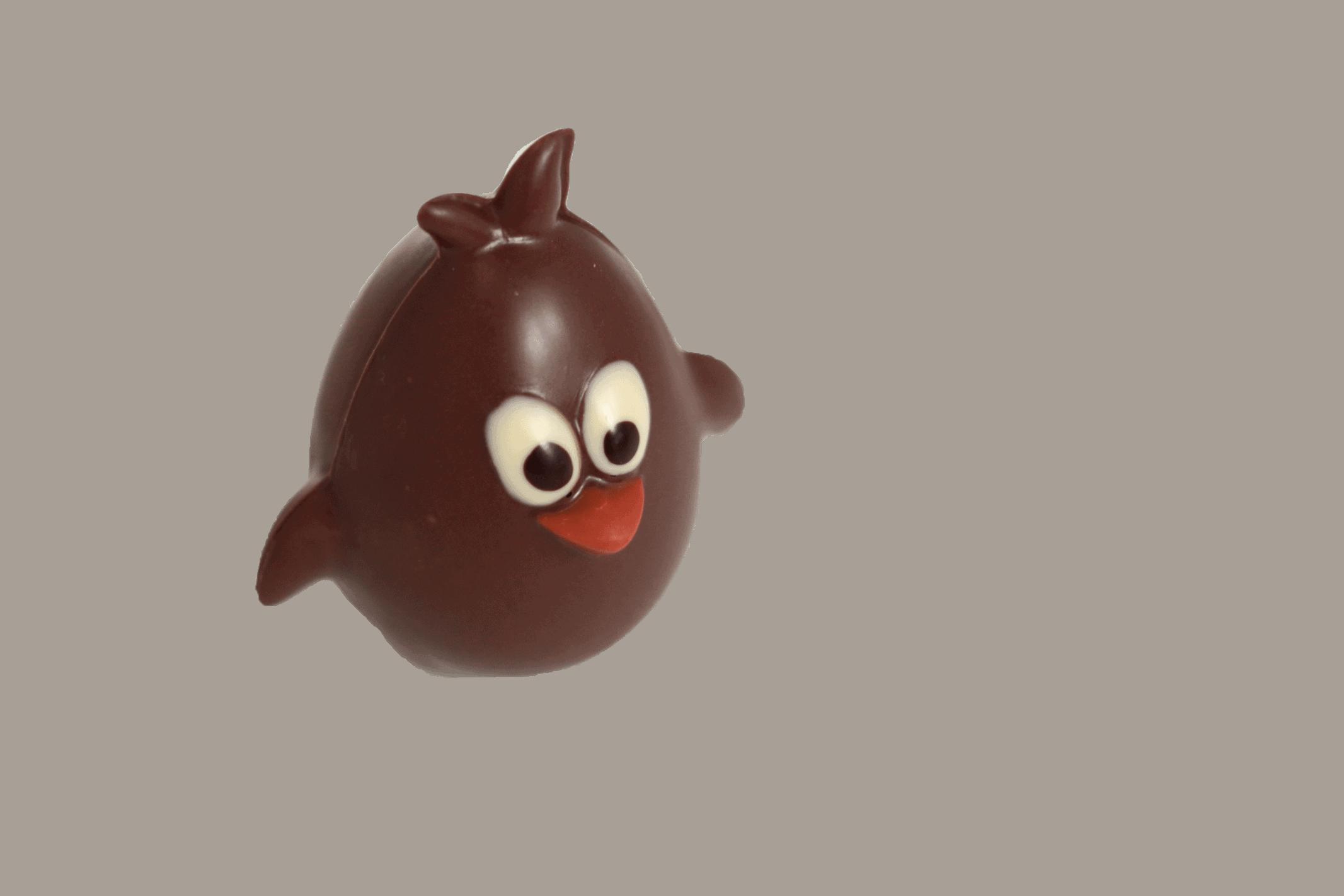 Caneton rieur chocolat noir